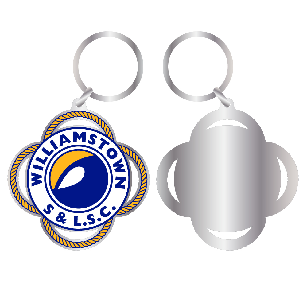 custom keyring merchandise event club teamwear