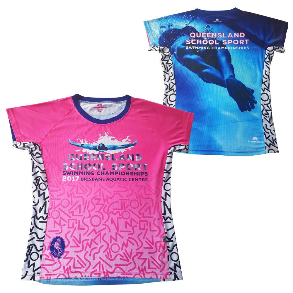 customised sublimated tshirt teamwear