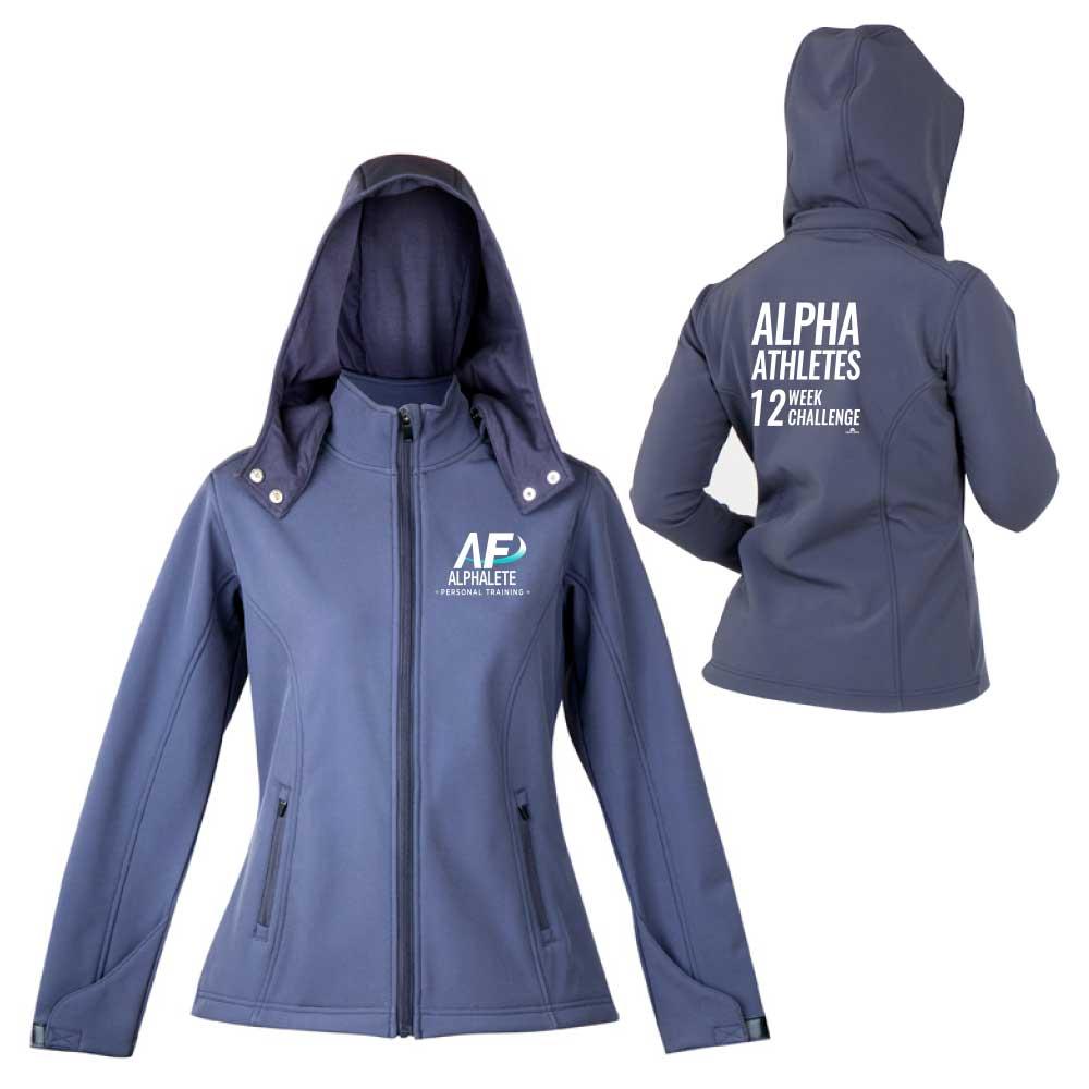 soft shell hooded jacket sports